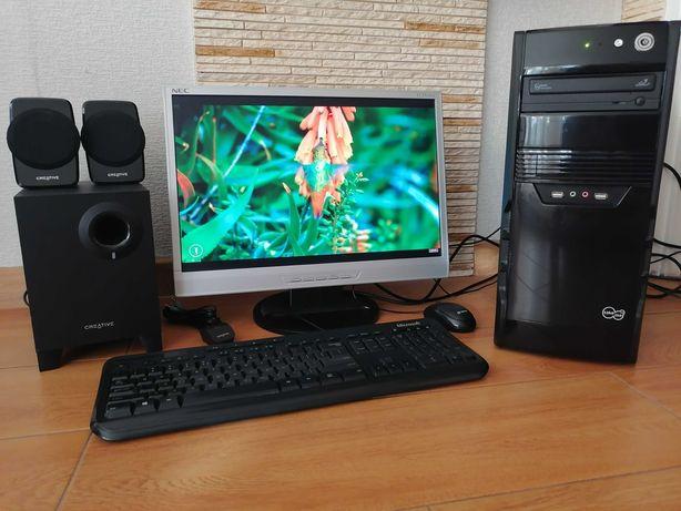 Zestaw , WINDOWS 10 , WI-FI , 4x3,8 GHz , 12 Gb RAM , stan BDB .
