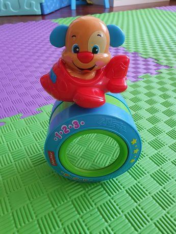 Fisher price собачка музыкальная игрушка
