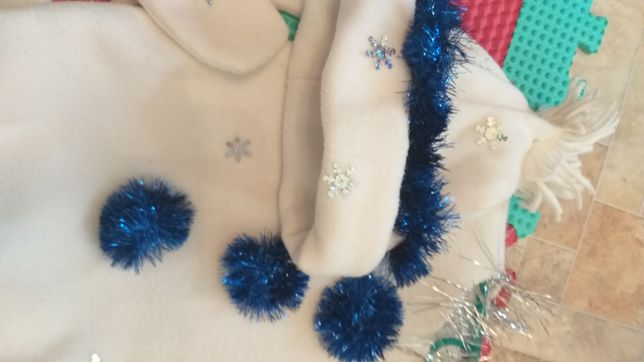Снеговик-новогодний костюм