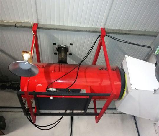 Gerador de calor portátil a gasóleo ANTARES 80P