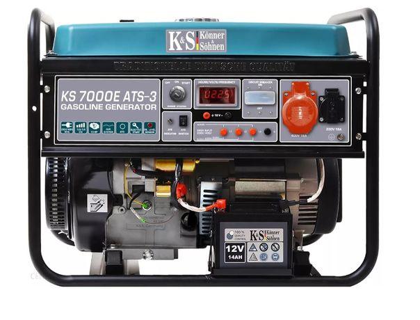 Agregat prądotwórczy K&S KS 7000E 3 ATS 230/400V 3-fazowy Nowy