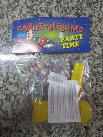 Carnevalissimo Party Time - Pistola para Atirar Serpentinas