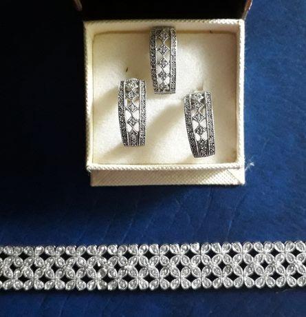 Oryginalne srebro biżuteria