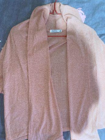 Женская розовая кофта Bershka