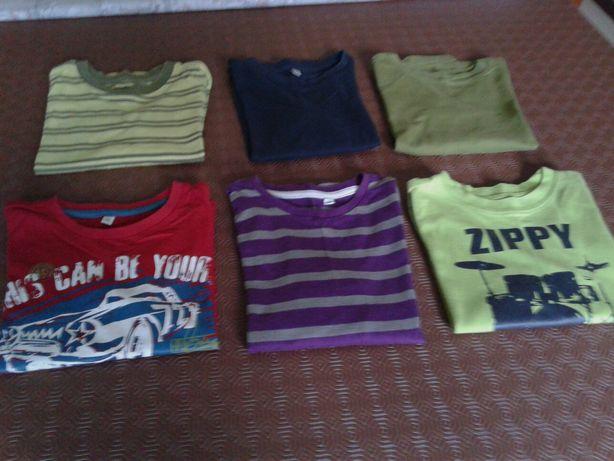 Lote 6 camisolas