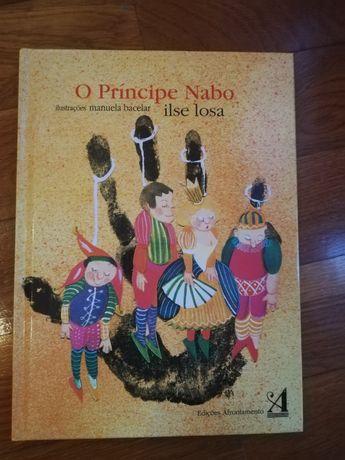 Livro Príncipe Nabo