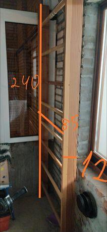 Шведська стінка дерев'яна (сосна)