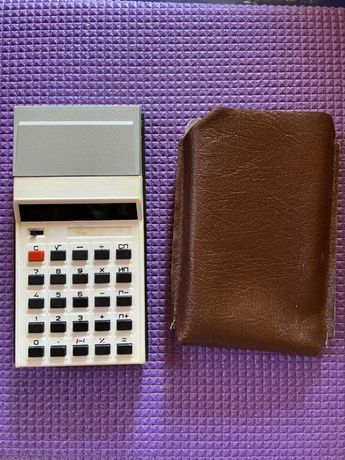 микрокалькулятор электроника мк 57А
