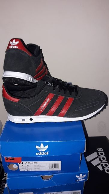 Adidas LA Trainer J EE6995 skórka zamszowa. 100% Wyprzedaż.Nowa dosta