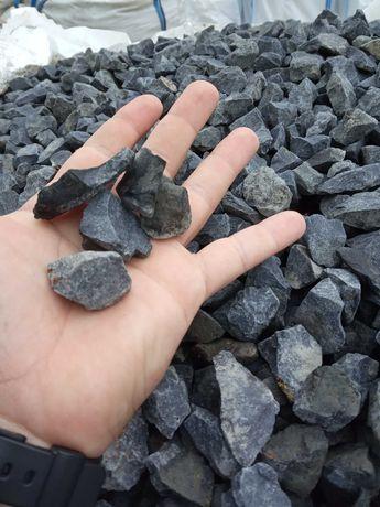 Grys czarny bazalt kamień naturalny dostawa + głaz gratis!