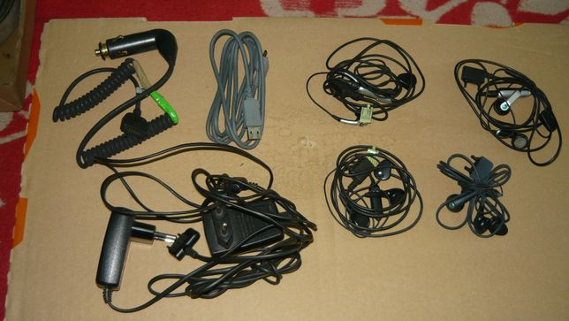 Sony Ericsson słuchawki ładowarka kabel samochodowa przewód