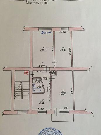 Продам 3-х комнатную квартиру в Шепетовке (центр, Подолянка)