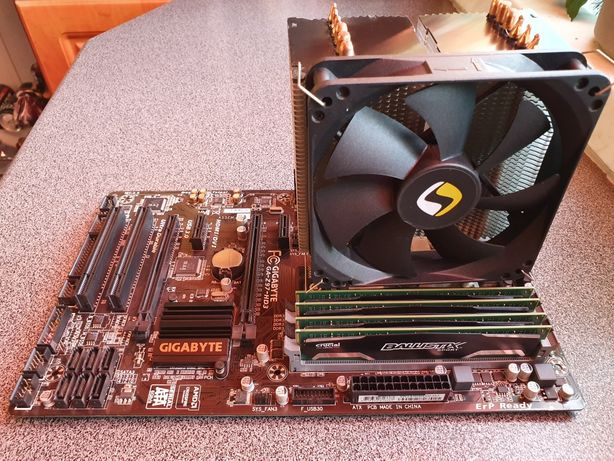 Zestaw Płyta Gigabyte Z97-HD3 ,procesor Intel Core i5 ,Ballistix sport