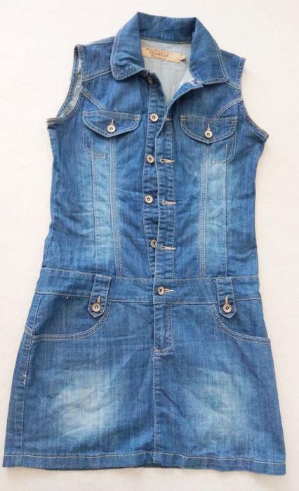 Sukienka jeansowa M Sucha Beskidzka - image 1