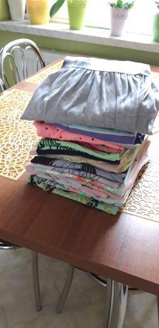 Zestaw ubrań,bluzka,spodenki 134,128