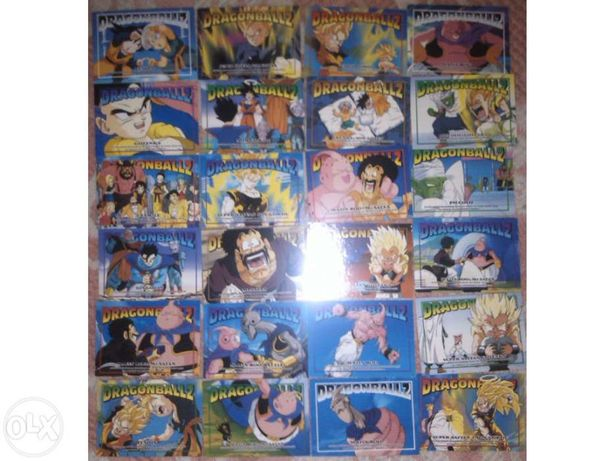 Dragon Ball Z - 51 Cartas (anos 90)