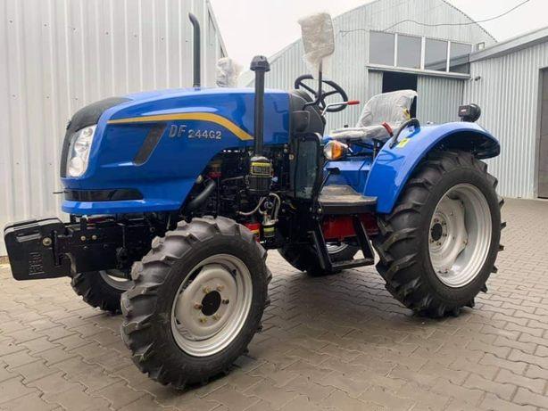 Трактор DONG FENG DF244 G2 PROреверс компресор, широкі шини донг фенu