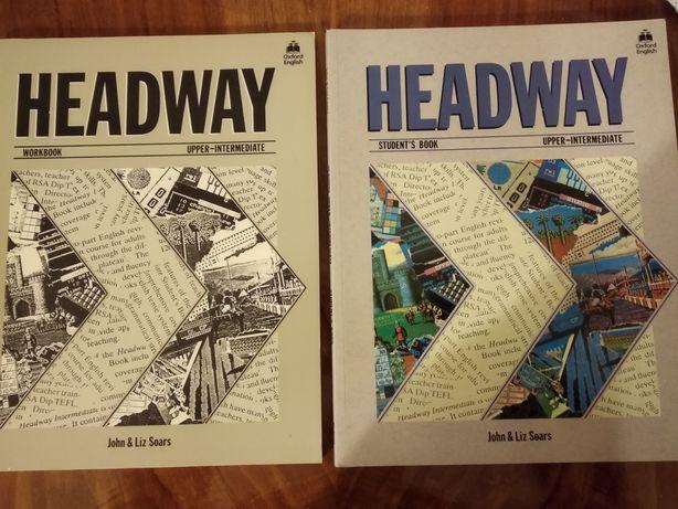 Książki Headway upper-intermediate Student's book i Workbook