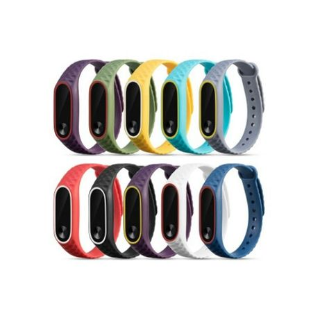 Xiaomi mi band 2 bracelete de duas cores