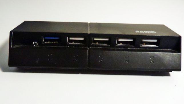 Game Power Port HUB Usb PS4 PlayStation 4 Switch dodatkowe 5 x USB