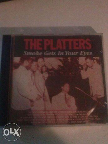 """CD Audio """" The Platters"""" - Smoke get in your eyes"""