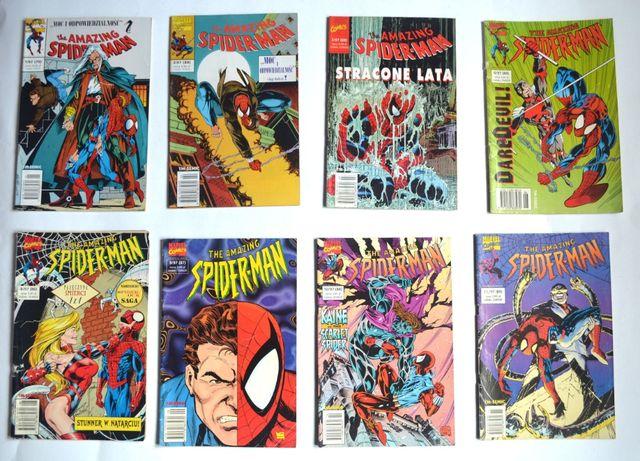Spider-man komiksy Dużo Na SZTUKI Tm-semic Egmont DK możliwa wysyłka