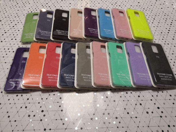 Чехол Silicone Full Cover для Xiaomi Mi Note 10 10 lite 9s pro max 8t