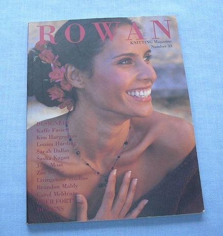 Magazyn Rowan Knitting nr. 33 Robótki na drutach Dziewiarstwo
