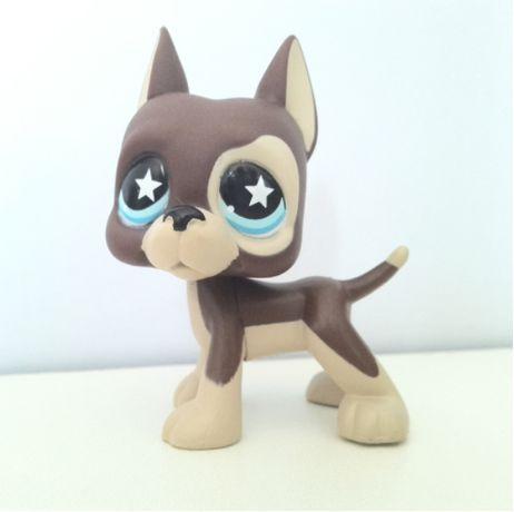 Littlest Pet Shop Lps Figurka Dog Niemiecki Piesek