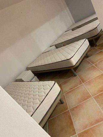 Conjunto camas individuais