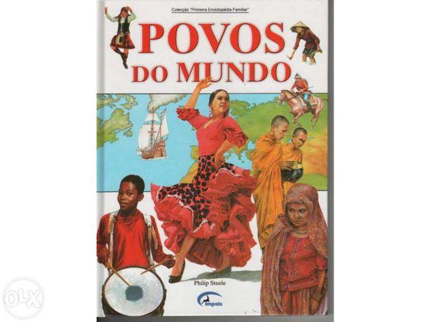 Livro povos do mundo impala 60 paginas