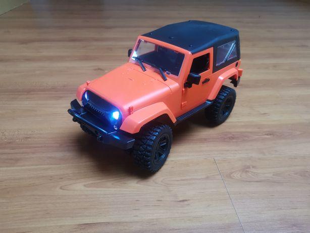 Carro telecomandado RC Jeep RC-F1 Crawler escala 1:14 com 2 baterias