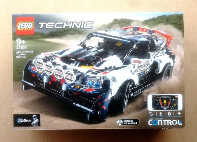 Lego Technic 42109 - Rally Top Gear NOVO