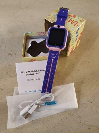 Smartwatch Criança GPS (Prova de Água)