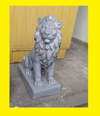 Ozdoba Ogrodowa - LEW z Betonu Cementu Figura Figurka Rzeźba Betonowa!
