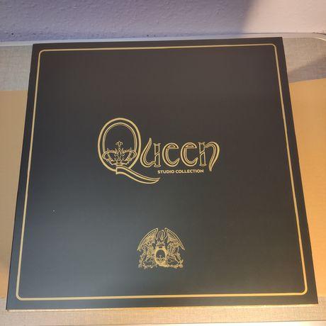 Queen : Studio Album Collection 18 coloured LP - BOX / Винил / VL