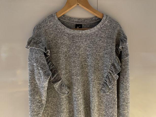 Sweter L Sinsay szary