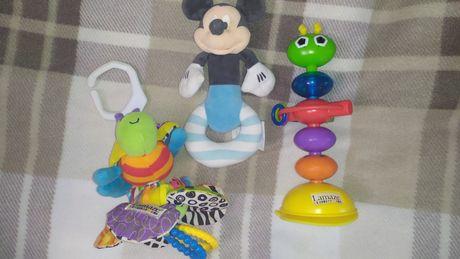 Игрушки, погремушки,игрушки на коляску,комфортер