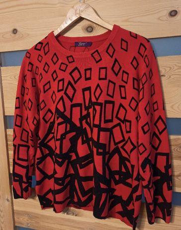 Young me damski sweter geometryczny