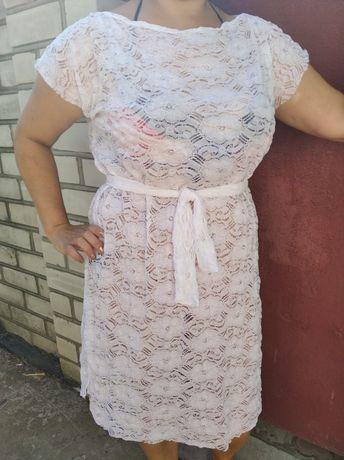 Туника пляжная платье для пляжа. Парео
