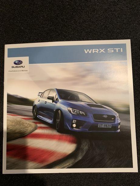 Prospekt Subaru Impreza WRX STI