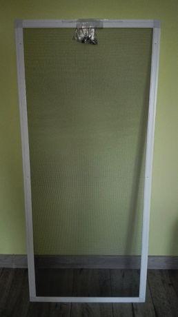 Moskitiera 52 x 119,5 cm lub mniejsza NOWA biała