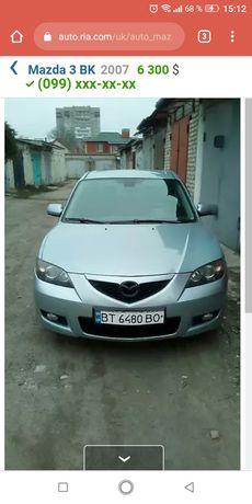 Mazda  3 2007 продам