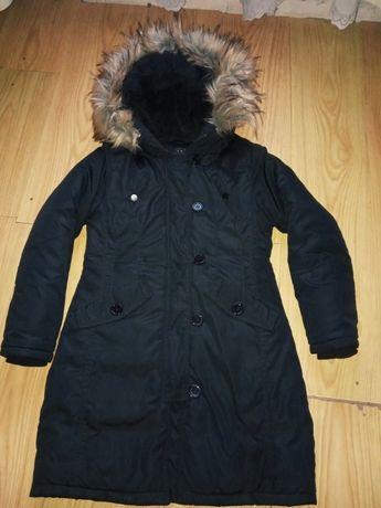 Зимняя куртка пальто парка