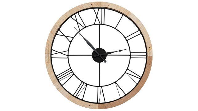 NOWY Zegar ścienny loft 60cm