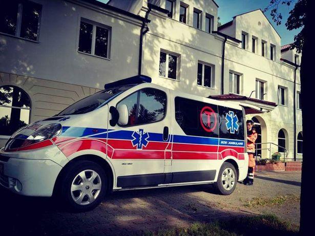 Transport medyczny,sanitarny transport chorych z COVID-19