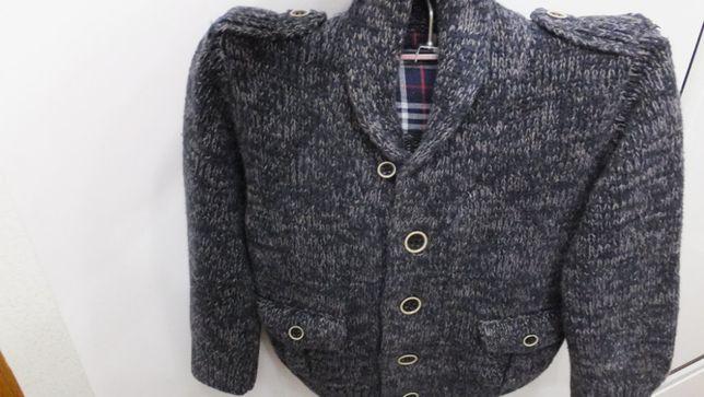 теплая кофта шерстяной кардиган свитер Mothercare размер 98 на 2 - 3 г