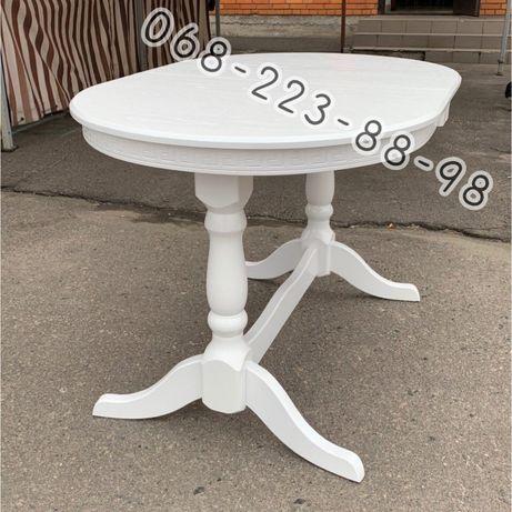 Стіл для дому. Стіл білий розкладний. Стол белый. Стол деревяный.