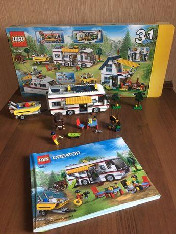 Lego creator 31052 wyjazd na wakacje kamper domek łodź