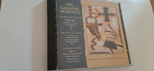 1 CD banda sonora Grammy's Nominees 1996